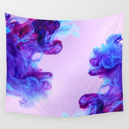 Ink Drops Wall Tapestry
