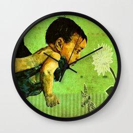 BEE tween worlds - infinity Wall Clock