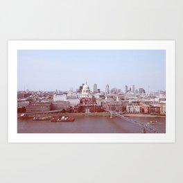 London Bankside Art Print