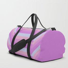 Pastel pattern Duffle Bag
