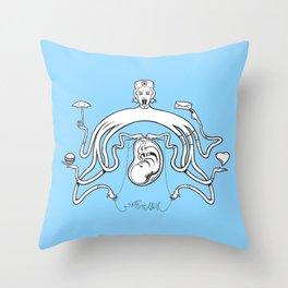 The Other Nurse Throw Pillow