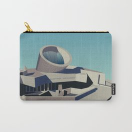 Soviet Modernism: Youth Metro Station in Yerevan, Armenia Carry-All Pouch