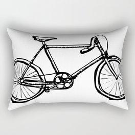 Path Racer Bicycle Rectangular Pillow