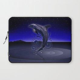 Dolphin - Night Laptop Sleeve