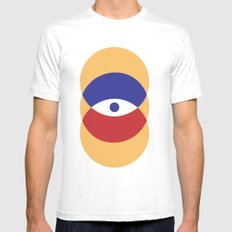 C I R | Eye MEDIUM White Mens Fitted Tee