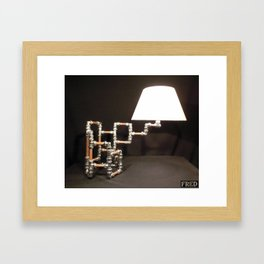 Articulated Desk Lamps - Copper and Chrome Collection - FredPereiraStudios_Page_15 Framed Art Print