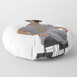 Russ Cartoon2 Floor Pillow
