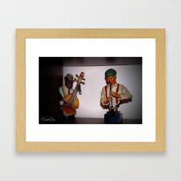 Jazz Men Framed Art Print