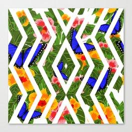 Tropical diablico sucio Canvas Print