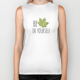 Beleaf In Yourself Biker Tank