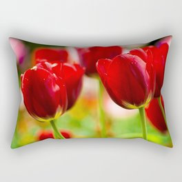Bold Tulips Rectangular Pillow