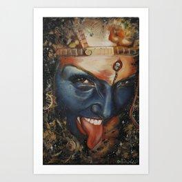 Kali Art Print