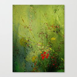 Summer's Last Flower Canvas Print