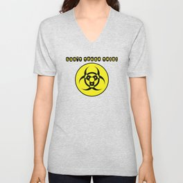 Can't Touch This! Unisex V-Neck