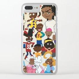 """Nostalgia"" Clear iPhone Case"