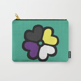 Lucky NB Pride Clover Carry-All Pouch