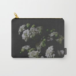 White Kalanchoe Carry-All Pouch