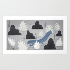 weasel away.  Art Print