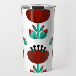 Tulip and Love Leaf Travel Mug