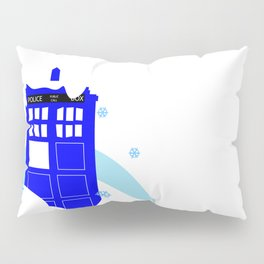Upside Down Time Travel Pillow Sham