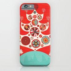 Festive Yule Christmas Tree Slim Case iPhone 6s