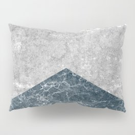 Concrete Silk Pillow Sham