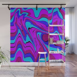 dreamland color flow 4 Wall Mural
