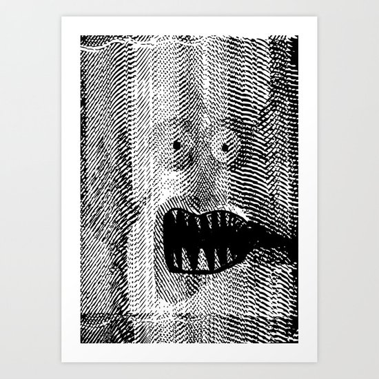 Copy Monster Art Print