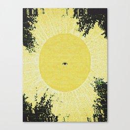 XIX, the Sun Canvas Print