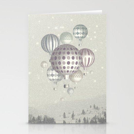 Winter Dreamflight Stationery Cards