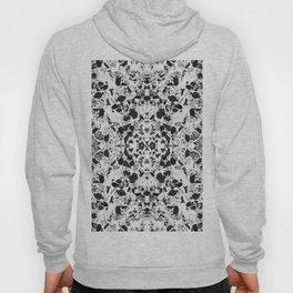 Beautiful Black and White Terrazzo Tile Hoody