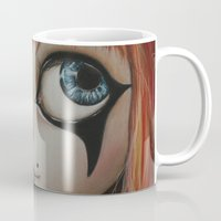 circus Mugs featuring Circus  by Bella Harris