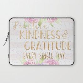 Kindness & Gratitude Laptop Sleeve