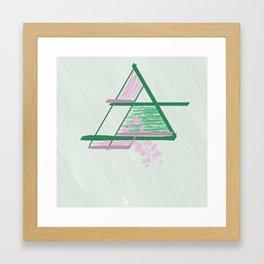Rosé 80s Mom Framed Art Print