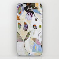 """flora bowley iPhone & iPod Skins featuring """"Letting Go"""" Original Painting by Flora Bowley by Flora Bowley"""