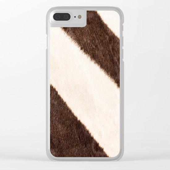 Zebra - stripes - #society6 #buyart #decor Clear iPhone Case