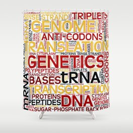 MOLECULAR BIOLOGY - Protein Synthesis Shower Curtain