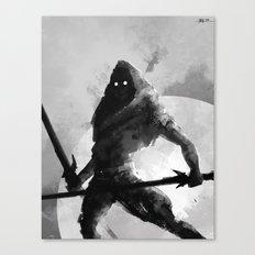 Dual-wielding Swordsman Canvas Print