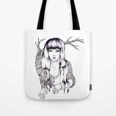 Tree Woman Tote Bag