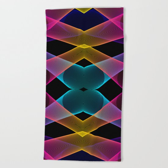 Paradox Beach Towel