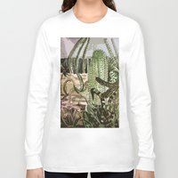 southwest Long Sleeve T-shirts featuring Southwest Garden by ArtistsWorks