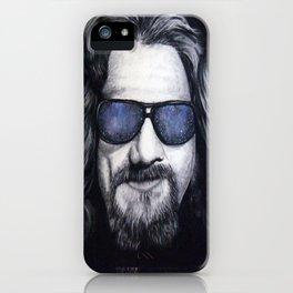 The Dude Lebowski iPhone Case