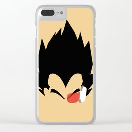 Saiyan Prince (Vegeta) Clear iPhone Case