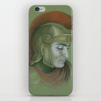 soldier iPhone & iPod Skins featuring Soldier by Jane Stradwick