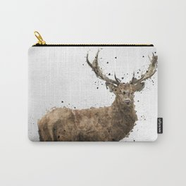 Geometric Drawing of a male deer Carry-All Pouch