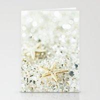 starfish Stationery Cards featuring Starfish by Monika Strigel