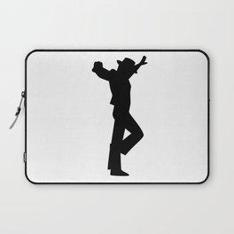 Flamenco Male Dancer Black Laptop Sleeve