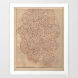 Pour Art Print