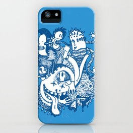 ILLOGICAL MADNESS iPhone Case