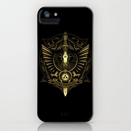 Triforce The True Heroes iPhone Case